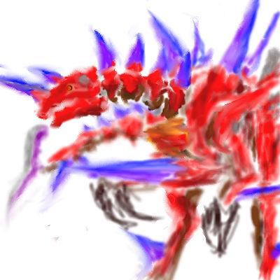 フルーツ岩さんの爆炎龍