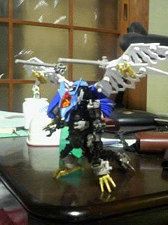 ビークドラゴンの戦闘イメージポージングです
