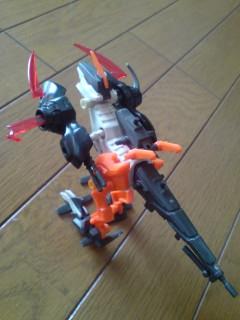 スナイプマスター格闘戦用試作実験機
